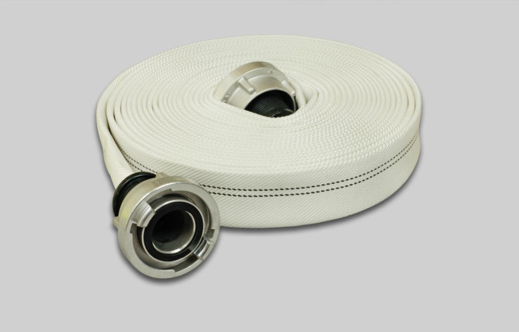 OSW Fire Fighting Hose Syntex Extra white plain L2
