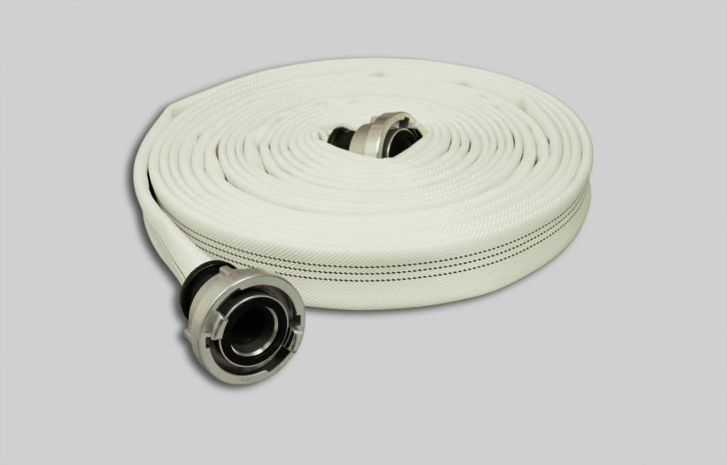 OSW Fire Fighting Hose Syntex Robust white plain L3