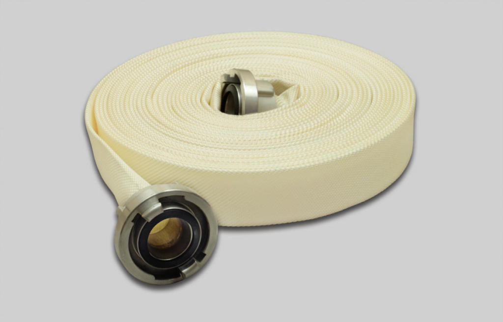 OSW Fire Fighting Competition Hose Syntex Folia white plain