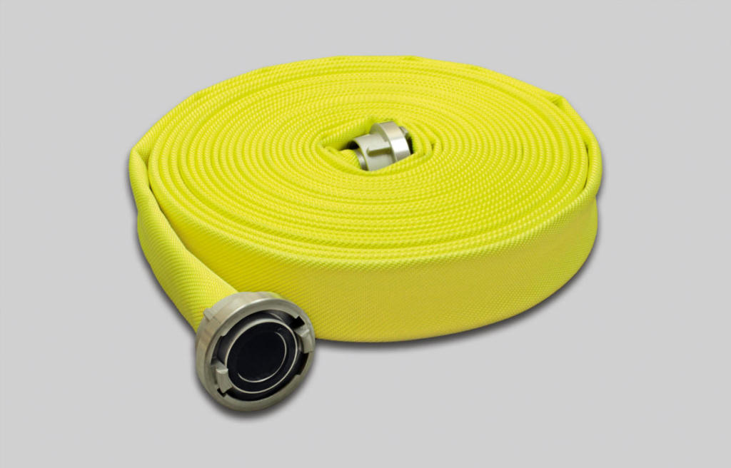 OSW Fire Fighting Hose Syntex Signal yellow L1