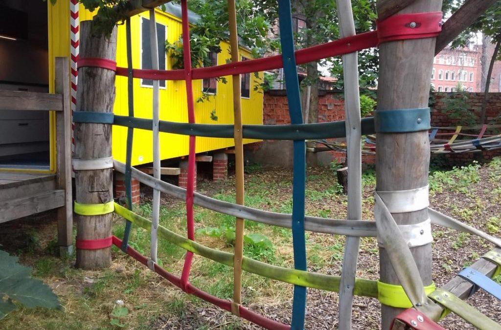 Climbing nets, Swings and Hammocks …