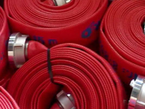 Stock department inside and outside rubber-lined hoses
