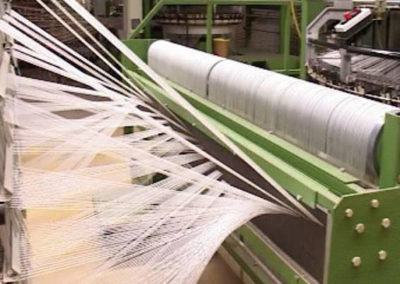 Weaving fabric hoses/geotextiles