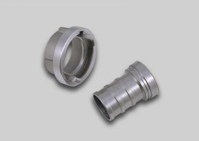 Storz Suction Hose Coupling, Long Tail