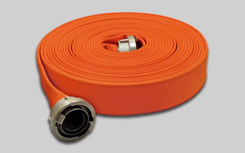 OSW Fire Fighting Hose Syntex Signal orange