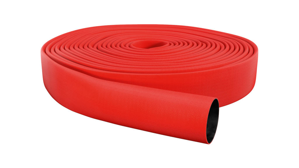 OSW Industry Hose Syntex 400 PU red